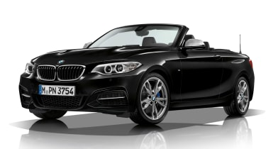 BMW M240i convertible black