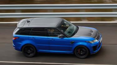 Range Rover Sport SVR - front above