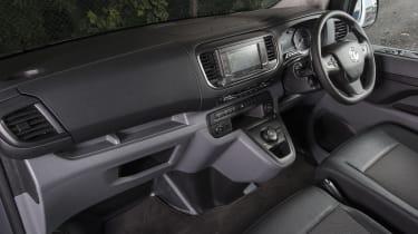 Vauxhall Vivaro van - interior