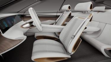 Hyundai Le Fil Rouge concept - front seats