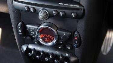 Used MINI Roadster - centre console