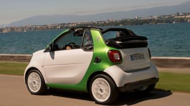 Smart ForTwo Electric Drive Cabrio - rear