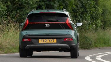 Hyundai Bayon - rear cornering