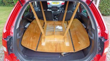 Long-term test - Suzuki Ignis - table loaded