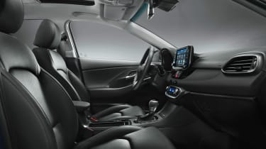 Hyundai i30 2017 - interior studio 2