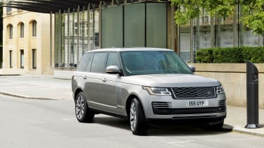 Range Rover review - static