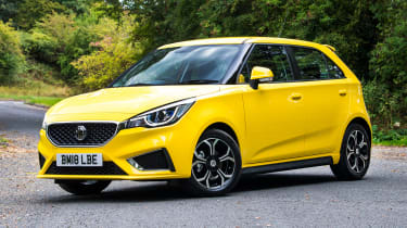 MG3 - front