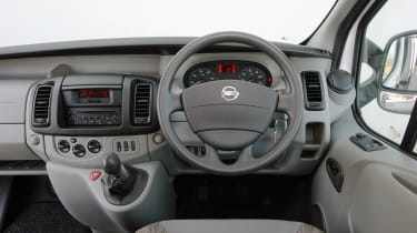 Inside, the standard car only has a one passenger seat with other models in the range being specified with three passenger seats.