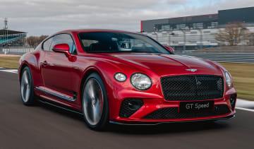 Bentley Continental GT Speed - front