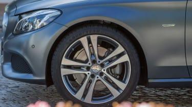 Mercedes C300 Coupe - wheel detail