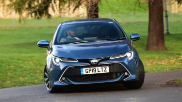 Toyota Corolla hybrid Long term - front