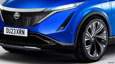 Nissan Juke EV - front detail (watermarked)