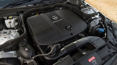 Used Mercedes E-Class - engine