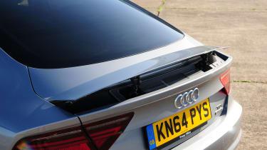 Audi A7 - spoiler