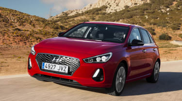 Hyundai i30 2017 - read front tracking
