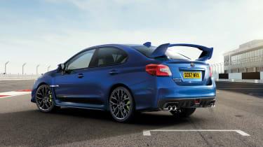 Subaru WRX STi Final Edition rear