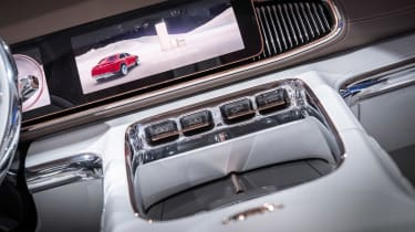 Vision Mercedes-Maybach Ultimate Luxury concept - centre console