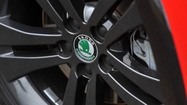 Skoda Fabia Monte Carlo wheel