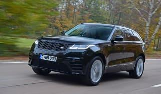 Range Rover Velar D180 - front tracking