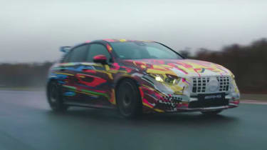 Mercedes-AMG a 45 spy shots video