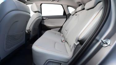 Hyundai Nexo - rear seats