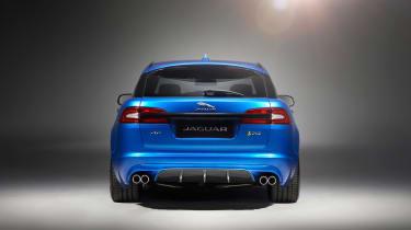 Jaguar XFR-S Sportbrake rear