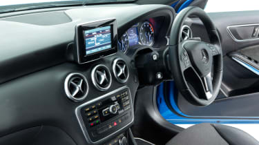 Used Mercedes A-Class - centre console