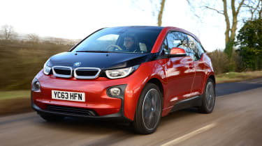 BMW i3 - front tracking