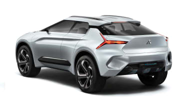 Mitsubishi e-Evolution concept - rear