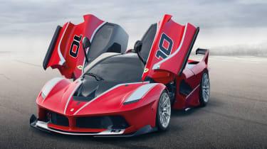 Ferrari LaFerrari FXXK - doors open