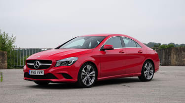Mercedes CLA 180 Sport static
