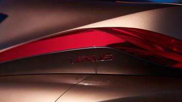 Lexus LF-1 Limitless - tail light