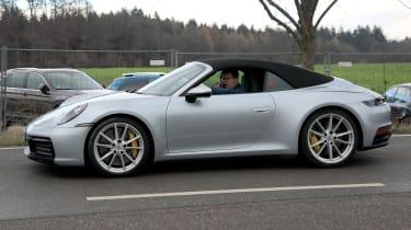 New Porsche 911 Cabriolet - spyshot 4
