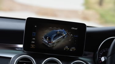 Mercedes GLC long-term test - off-road settings