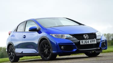Honda Civic Sport - front static