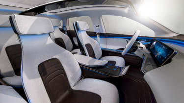 Mercedes EQ electric SUV - interior 2