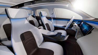 Mercedes EQ electric SUV - interior 2