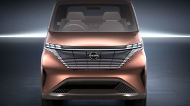 Nissan IMk concept - front static