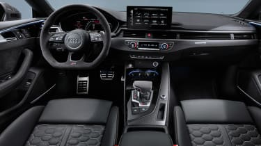 Audi RS 5 Coupe - cabin