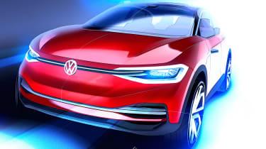 Volkswagen I.D. Crozz II - teaser