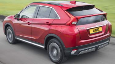 Mitsubishi Eclipse Cross - rear action