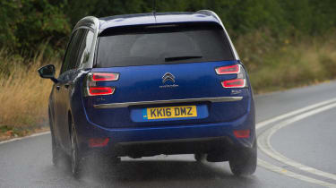 Citroen Grand C4 Picasso 2016 - rear cornering