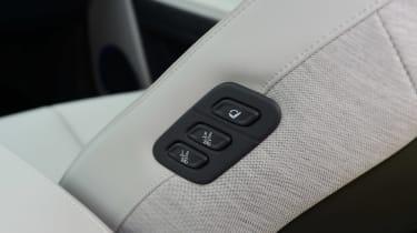 Hyundai Ioniq 5 - seat controls