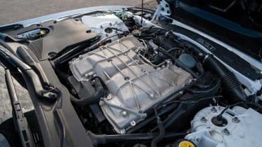 Jaguar XKR-S GT coupe engine