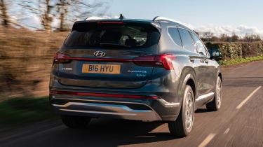 Hyundai Santa Fe Hybrid - rear
