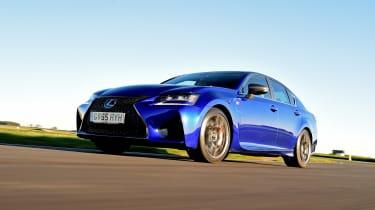 Lexus GS F - front action