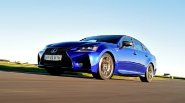 Lexus GS F - front action