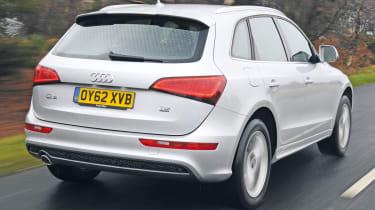 Audi Q5 rear tracking