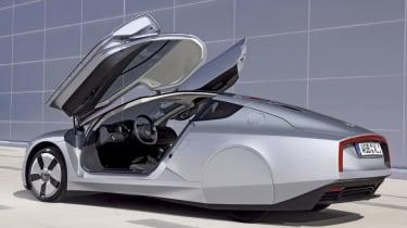 VW XL1 rear