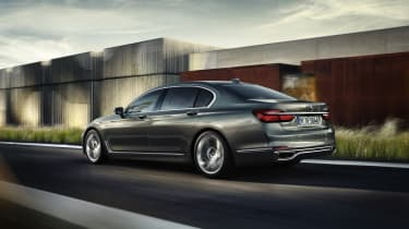 New 2015 BMW 7-Series side rear